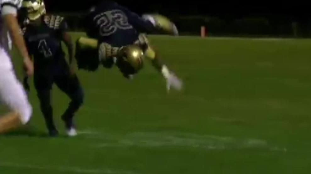 When in doubt, front flip over the defense