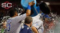 Hosmer gets splashed on SportsCenter