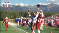 Wait till you see this high schooler's one-handed catch