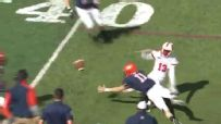 Utica comes away with ridiculous interception