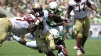 Cook carves up South Florida in the first half