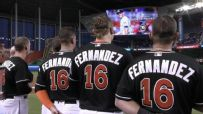 Jose Fernandez honored with emotional tribute