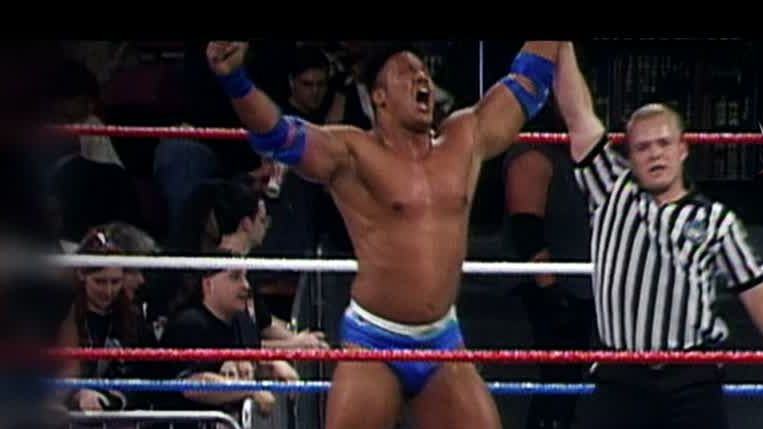 When The Rock Made His Wwe Debut Espn Video