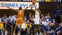 West lifts West Virginia past Texas