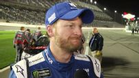 Dale Jr embraces being back on the track