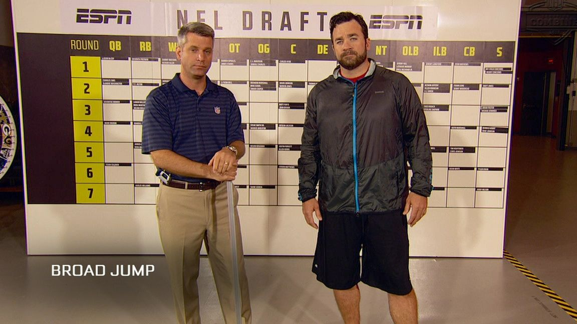 The broad jump drill is all about the hips - ESPN Video