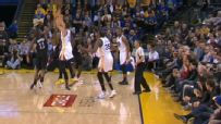 Curry caps Warriors' 50-point quarter with buzzer-beater