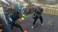 MMA and boxing worlds collide in sparring session