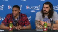 Westbrook has heated back-and-forth with reporter