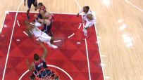 Millsap hits vital and-1 falling to the court