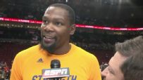 Durant glad to be back with his teammates