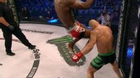 A flying-knee KO you need to see