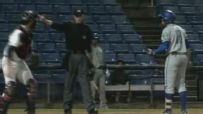 Minor leaguer's bizarre strikeout