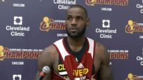 LeBron: No one's taken 2 different franchises to 4 Finals
