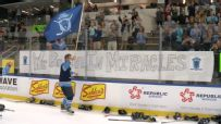 Hockey players set world record while raising money for cancer