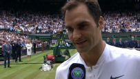 Federer grateful for health during 8th Wimbledon title