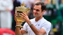 Federer downs Cilic in straight sets to win 8th Wimbledon