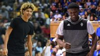 LaMelo and Zion take center stage in AAU showdown