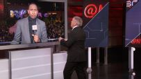 Stephen A. and Teddy go toe-to-toe in verbal dispute