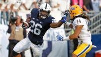 Saquon Barkley proving to be an unstoppable force