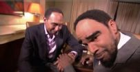 Stephen A. takes on 'Cleveland A.' (Jamie Foxx)