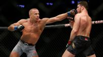 GSP returns, submits Bisping to capture middleweight title