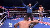 Martinez ends fight with a left hook to liver of Martinez