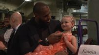 Cavs players inspire at Big Shots and Little Stars Fundraiser
