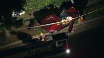 Haas injured in fatal car crash