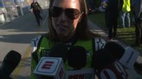Danica enjoying fans, atmosphere but not the result