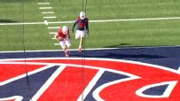 Lane zips strike for TD pass in Arizona's spring game