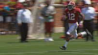 Townsend shakes tackles and goes for 63-yard TD
