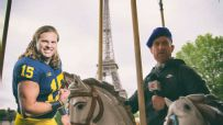 Michigan and Marty have tons of fun in France