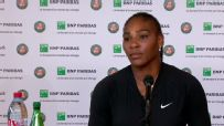 Serena: 'Right now, I can't actually serve'