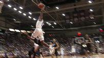 Barrett takes off for highlight dunk