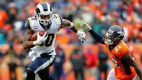 Gurley posts 1st career 200-yard rushing game