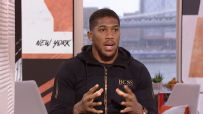Anthony Joshua: 'I'm willing to fight Deontay Wilder'