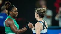 Serena takes down No. 1 Halep