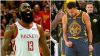 Harden, Rockets invade Oracle for potential playoff bout