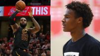 Like father, like son: LeBron and Bronny drop in identical game-winners