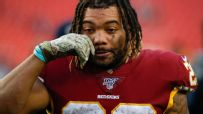 Redskins comfortable with RB options after Guice release