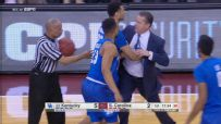 Calipari ejected less than three minutes into game