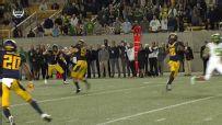 Interception in 2OT wins wild game for Cal
