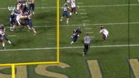 Connor goes up the middle for TD, cuts into Hokies' lead