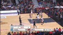 Grayson Allen nearly destroys the rim with monstrous dunk