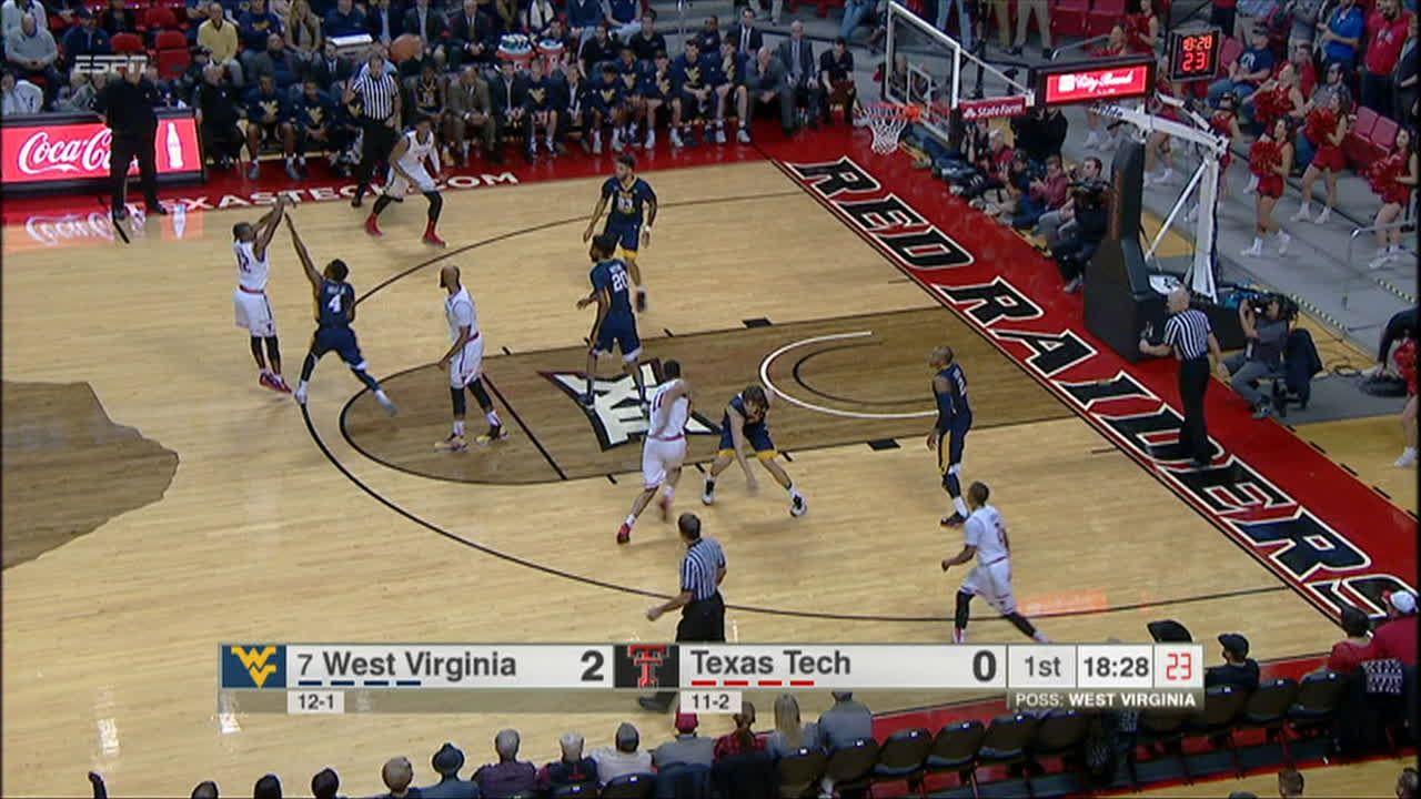 Keenan Evans buries the 3-pointer - ESPN Video
