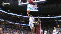 Memphis' Jeffries rocks the rim