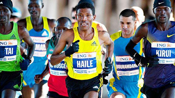 endurance sports how old is haile gebrselassie