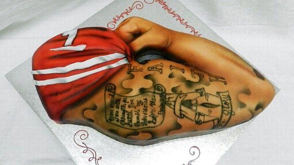 Colin Kaepernick Arm Tattoo