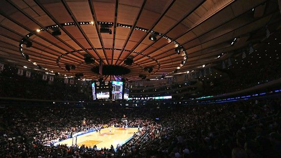 The garden tops the list of 10 most historic north - Madison square garden to times square ...